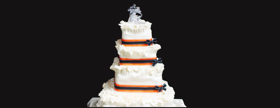 See our wedding and celebration cakes